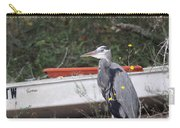 Great Blue Heron - Chicken Of The Sea Carry-all Pouch