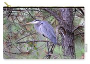 Great Blue Heron - Happy Place Carry-all Pouch