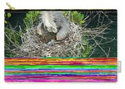 Great Blue Heron Ardea Herodias Nesting Carry-all Pouch