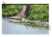 Great Blue Heron Escape Carry-all Pouch