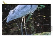 Great Blue Heron, Florida Carry-all Pouch