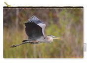 Great Blue Heron In Flight II Carry-all Pouch