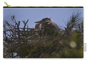 Great Blue Heron In Nest Carry-all Pouch