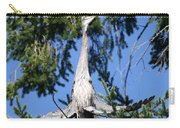 Great Blue Heron Meditation Pacific Northwest Carry-all Pouch
