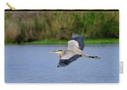 Great Blue Heron Soaring Carry-all Pouch