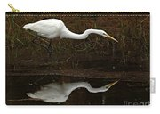 Great Egret Reflection 2 Carry-all Pouch