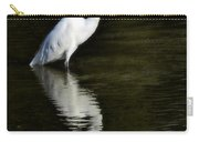 Great Egret Reflection  Carry-all Pouch