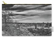 Great Falls Rr Bridge 10477b Carry-all Pouch