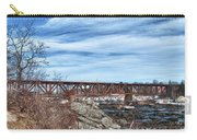 Great Falls Rr Bridge 10477c Carry-all Pouch