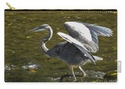 Great Grey Heron Dance Carry-all Pouch