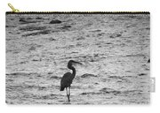 Great Grey Heron Silhouette Carry-all Pouch