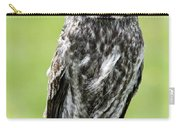 Great Grey Owl, Water Valley, Alberta Carry-all Pouch