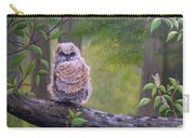 Great Horned Owlette Carry-all Pouch