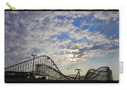 Great White Roller Coaster - Adventure Pier Wildwood Nj At Sunrise Carry-all Pouch