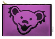 Greatful Dead Dancing Bear In Pink Carry-all Pouch