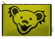 Greatful Dead Dancing Bear In Yellow Carry-all Pouch