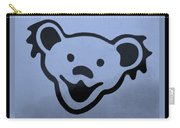 Greatful Dead Dancing Bears In Cyan Carry-all Pouch