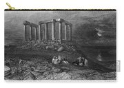 Greece: Cape Sounion, 1832 Carry-all Pouch
