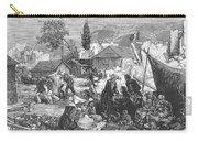 Greece: Earthquake, 1880 Carry-all Pouch by Granger