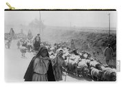 Greece Shepherds And Flocks - C 1909 Carry-all Pouch by International  Images