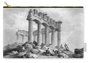 Greece: The Parthenon 1833 Carry-all Pouch by Granger