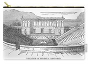 Greece: Theater Of Segesta Carry-all Pouch