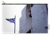 Greek Flag Flying Carry-all Pouch
