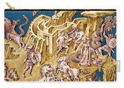 Greek Mythological Characters Carry-all Pouch by Photo Researchers