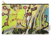 Green And Blue Weed Painting Carry-all Pouch