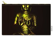 Green And Gold Buddha Carry-all Pouch