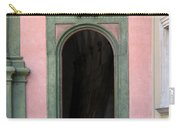 Green And Pink Doorway In Krakow Poland Carry-all Pouch