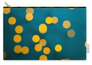 Green Background With Gold Dots  Carry-all Pouch