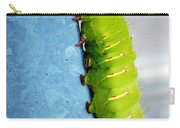 Green Caterpillar  Carry-all Pouch