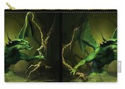 Green Dragon - Gently Cross Your Eyes And Focus On The Middle Image Carry-all Pouch