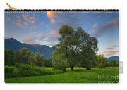 Green Field With Trees Carry-all Pouch