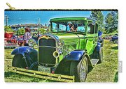 Green Ford Street Rod Hdr Carry-all Pouch