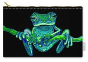 Green Ghost Frog Carry-all Pouch