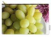Green Grapes And Purple Mum Carry-all Pouch