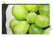 Green Grapes On A Plate Carry-all Pouch