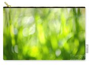 Green Grass In Sunshine Carry-all Pouch by Elena Elisseeva