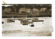 Green Harbor At Low Tide Carry-all Pouch