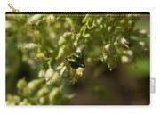 Green Helicid Bee 6 Carry-all Pouch