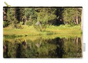 Green In Summit Lake Carry-all Pouch