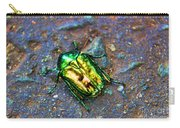 Green Junebug Carry-all Pouch