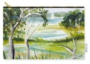 Green Land Carry-all Pouch
