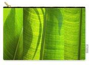Green Leaf Carry-all Pouch by Setsiri Silapasuwanchai