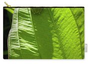 Green On Green Carry-all Pouch by Albert Seger