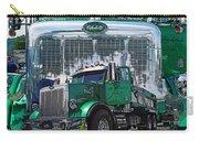Green Peterbilt Dbl. Exposure Carry-all Pouch
