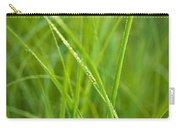 Green Prairie Grass Carry-all Pouch