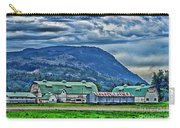 Green Roofed Barn-hdr Carry-all Pouch